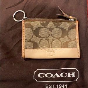 Coach monogram mini skinny
